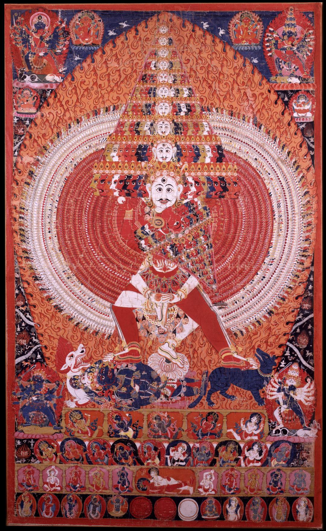 Sarah Walker on Shiva Vishvarupa