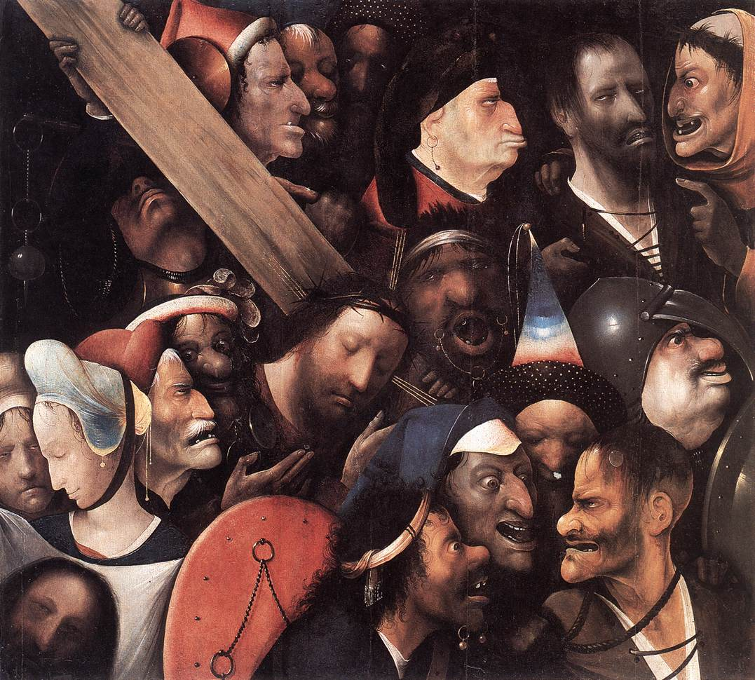 Αποτέλεσμα εικόνας για hieronymus bosch christ carrying the cross analysis