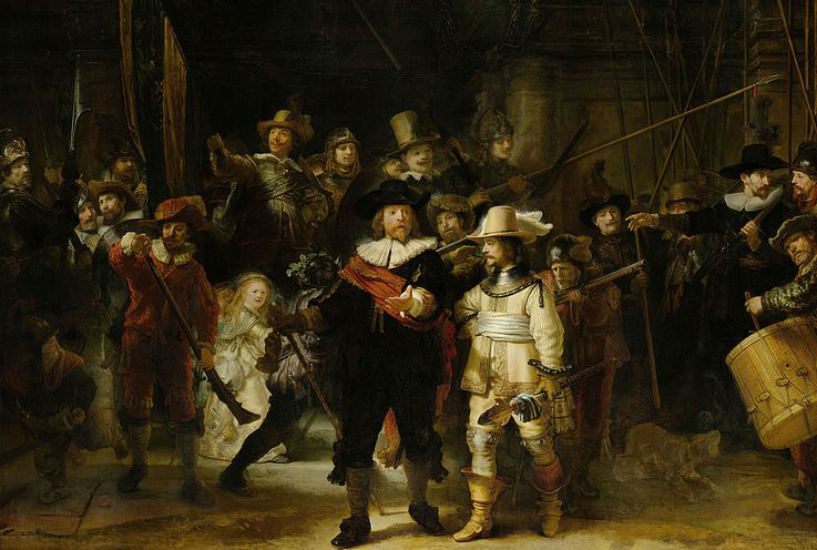 Raoul Middleman on Rembrandt