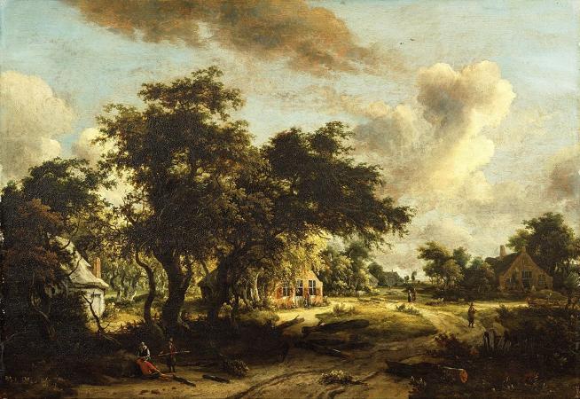 Dear Weather: Buzz Spector on Hobbema, Gainsbourough, & Vermeer