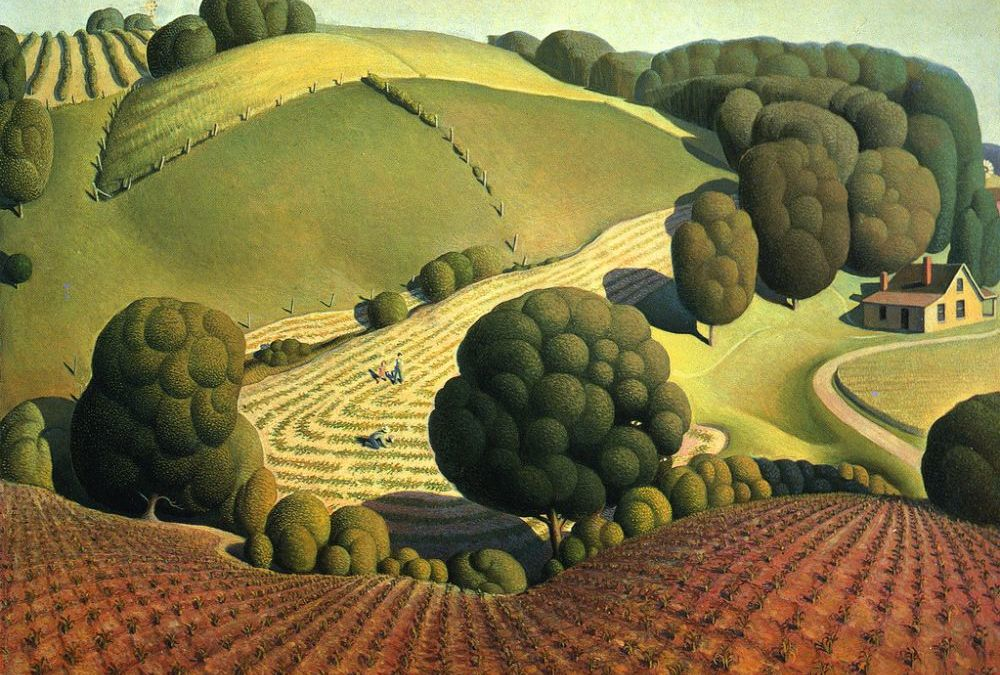 Laurie Hogin on Grant Wood